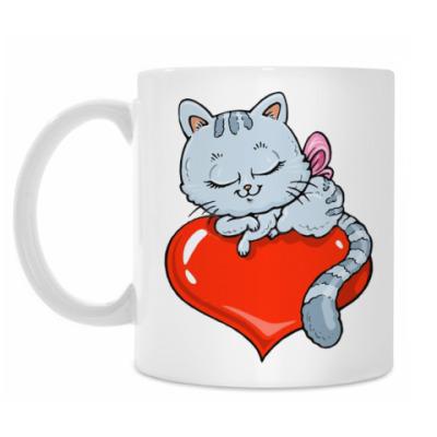 Кружка Heart Kitty