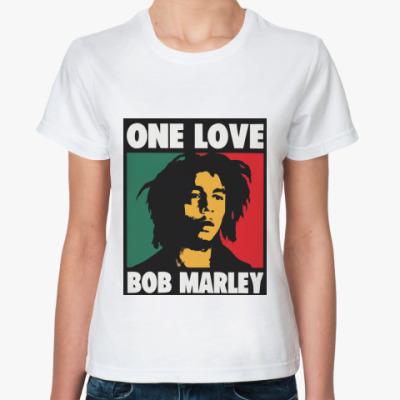 Классическая футболка Боб Марли (Bob Marley)