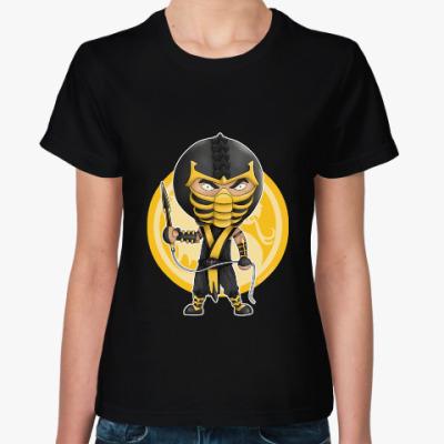 """Женская футболка Женская футболка """"Скорпион"""""""