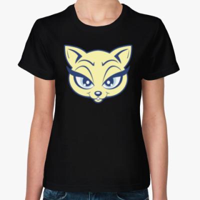 Женская футболка Beauty Kitty