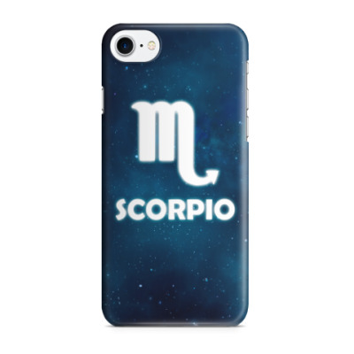 Чехол для iPhone 7/8 Знак зодиака. Скорпион