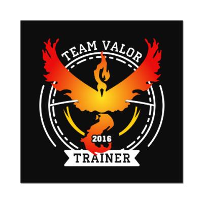 Наклейка (стикер) Покемоны. Team Valor