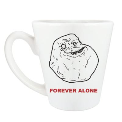 Чашка Латте Forever alone