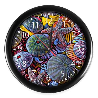 Настенные часы Marine life