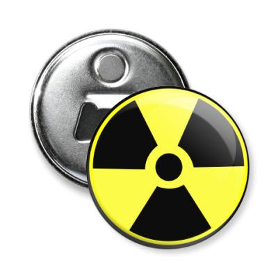 Магнит-открывашка Радиация