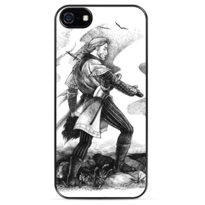Чехол для iPhone Средневековый воин