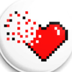 Pixel Broken Heart (сердце)
