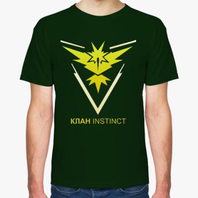 Футболка Pokemon Team Клан INSTINCT