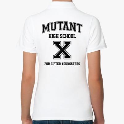 Женская рубашка поло X-Men High School