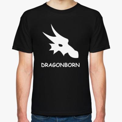 Футболка  dragonborn