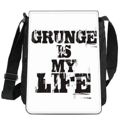 Сумка-планшет Grunge is my life