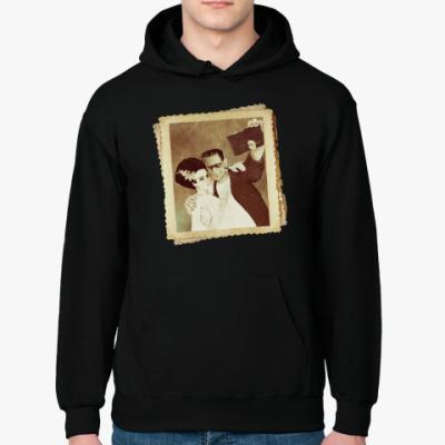 Толстовка худи Монстр Франкенштейна и невеста