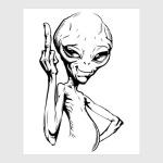 смешной пришелец (funny alien)