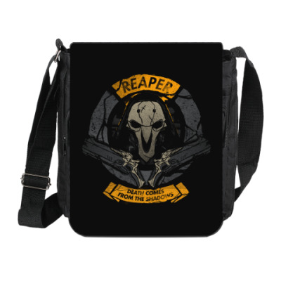 Сумка на плечо (мини-планшет) Overwatch Reaper Gabriel Reyes