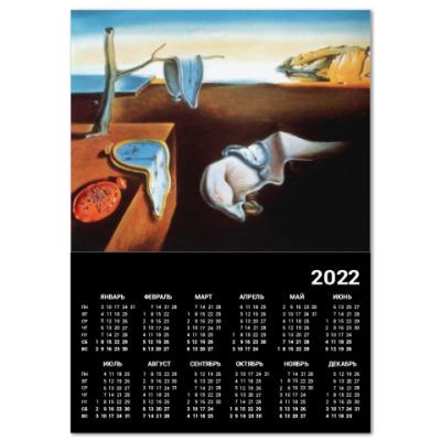 Календарь 'Постоянство памяти' Сальвадора Дали
