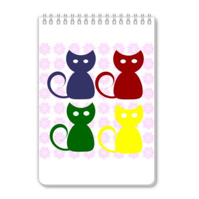 Блокнот 'Коты'