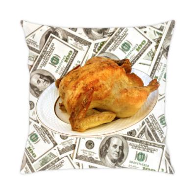 Подушка Money Chicken