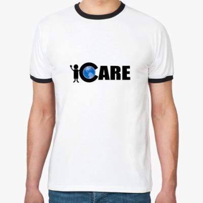 Футболка Ringer-T iCare
