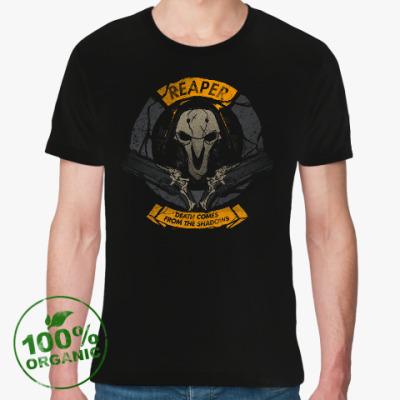 Футболка из органик-хлопка Overwatch Reaper Gabriel Reyes