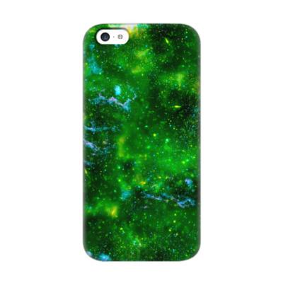 Чехол для iPhone 5c Кислотный космос