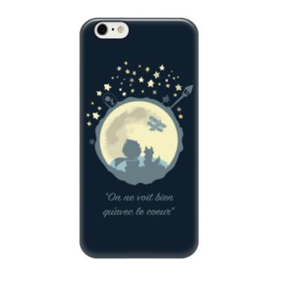 Чехол для iPhone 6/6s Маленький принц и лис Экзюпери