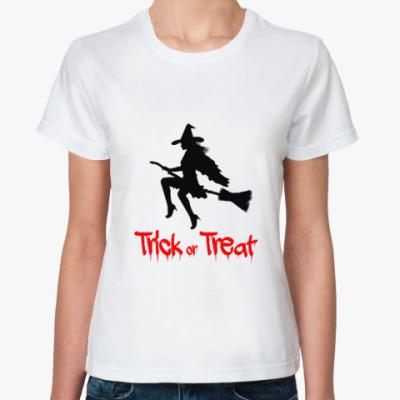 Классическая футболка Trick or Treat