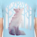 Зимний Лис в снегу Winter fox