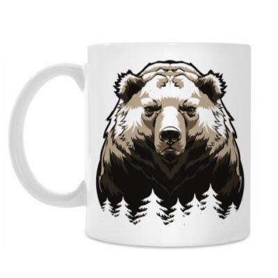 Кружка Суровый Медведь