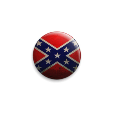 Значок 25мм Флаг Конфедерации