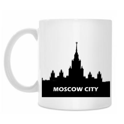 Кружка Кружка белая Moscow City