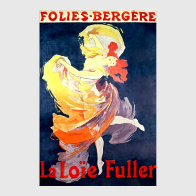 Постер La Loie Fuller, 1893