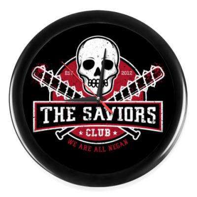 Настенные часы Walking Dead The Saviors TWD