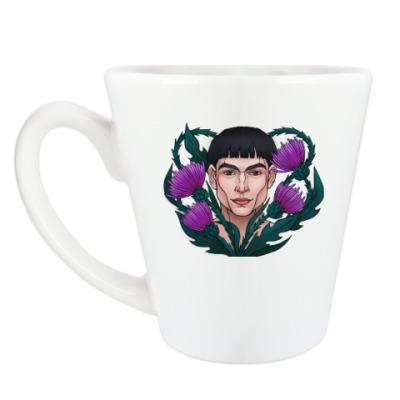 Чашка Латте Криденс и чертополох
