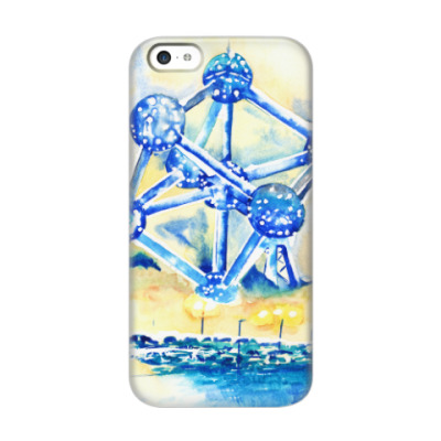 Чехол для iPhone 5c Атомиум