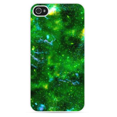 Чехол для iPhone Кислотный космос