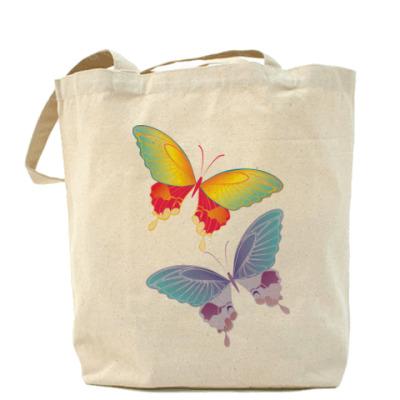 Сумка Две бабочки