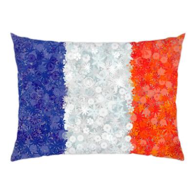 Подушка Флаг Франции