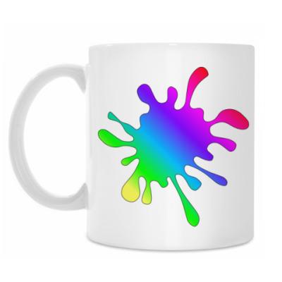Кружка Rainbow Blur