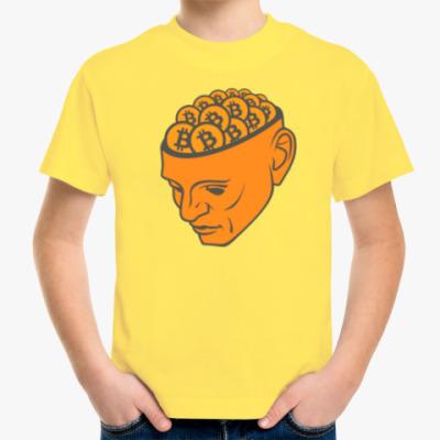 Детская футболка Bitcoin Mind