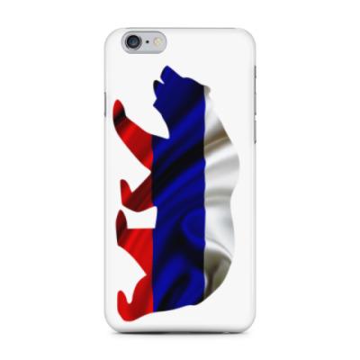 Чехол для iPhone 6 Plus Русский медведь