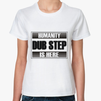 Классическая футболка dubstep