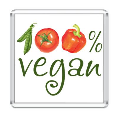 Магнит 100% vegan