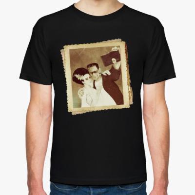 Футболка Монстр Франкенштейна и невеста