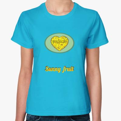 Женская футболка Sunny fruit