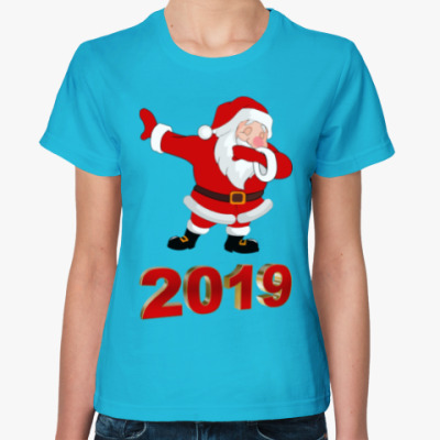 Женская футболка Дэб Санта 2019