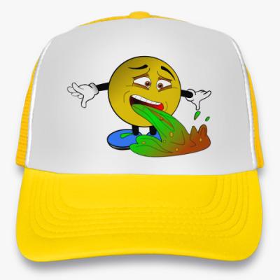 Кепка-тракер Vomiting Emoji