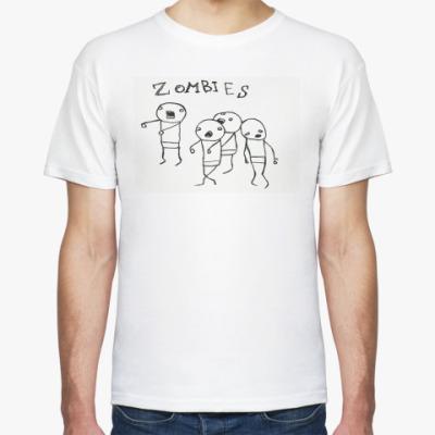 Футболка zombies