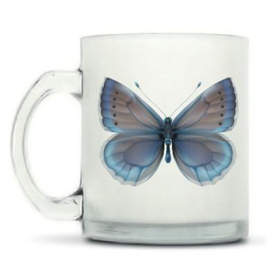 Кружка матовая Бабочка