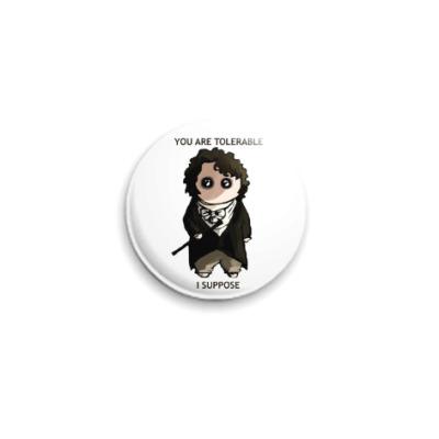 Значок 25мм Mr Darcy ( Colin Firth )