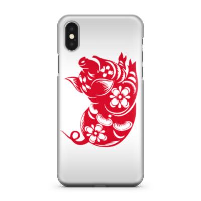 Чехол для iPhone X Символ года